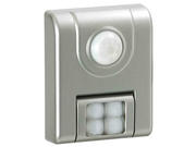 Fulcrum Products Inc Contemporary Silver 4 LED Motion Sensor Light