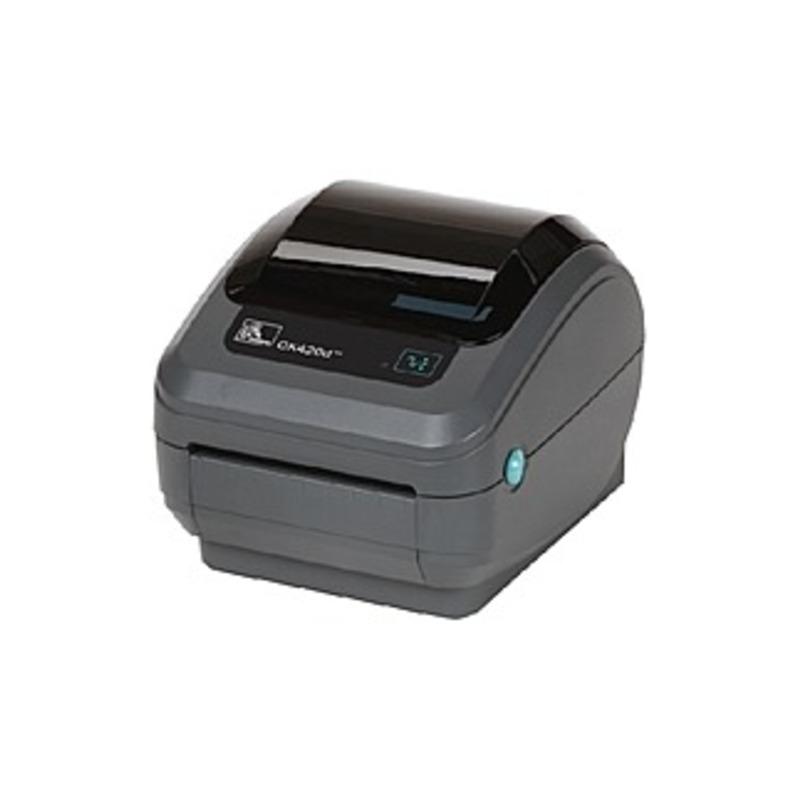 Zebra Gk420t Thermal Transfer Printer - Monochrome - Desktop - Label Print - 4.09