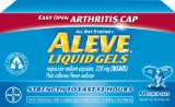 Aleve Liquid Gels with Easy Open Arthritis Cap, 80 Count