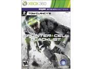 Splinter Cell: Blacklist Xbox 360 ESRB Rating: M - Mature Genre: Action Brand: Ubisoft Platform: Xbox 360