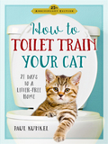 Paul Kunkel's foolproof, tried-and-true 21 day program teaches any litter-trained cat to use a toilet instead of a litter box