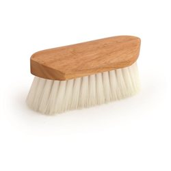 Legends Stiff Poly Pocket Grooming Brush 6 3/8'' Prince Clear