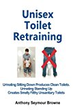 Unisex Toilet Retraining: Urinating sitting down produces clean toilets. Urinating standing up creates smelly filthy unsanitary toilets.