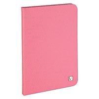 """Verbatim Folio Hex Case For Ipad Mini (1,2,3) - Bubblegum Pink - Microsuede Interior - Textured - 8.3"""" Height X 5.7"""" Width X 0.5"""" Depth 98104"""
