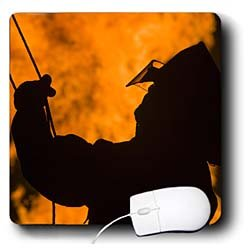 Danita Delimont - Fire Fighting - Massachusetts, Cape Ann, Rockport, Fire Fighter - US22 WBI0695 - Walter Bibikow - Mouse Pads