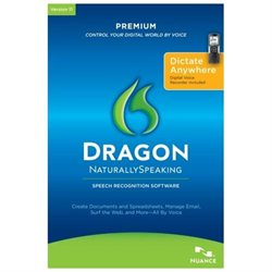 Nuance Dragon NaturallySpeaking v.11.0 Premium With Headset - Complete Product - 5 User - Voice Recognition - Standard Retail - PC - English
