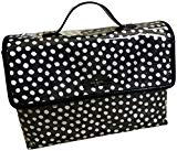 Kate Spade Lita Brook Place Musical Dots Cosmetic Travel Make Up Case Bag