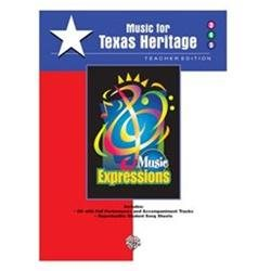 Alfred 00-EMC35011CD Music Expressionso Supplementary Grades 3-5- Music for Texas Heritage - Music Book