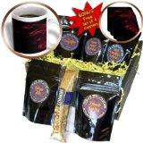 cgb_15550_1 Yves Creations Smoke Effects - Red Smokey Black Silhouette - Coffee Gift Baskets - Coffee Gift Basket