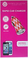 Quickly recharge your device with the Macbeth Collection MB CC200 ZGT 2.1A Rapid Car Charger