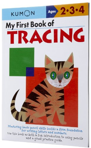 My First Book of Tracing (Kumon's Practice Book Series)