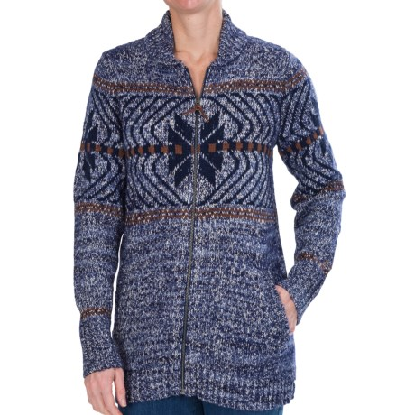 Woolrich White Label Native Cardigan Sweater (for Women)