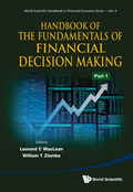 This handbook in two parts covers key topics of the theory of financial decision making