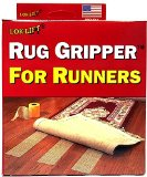 Optimum Technologies Lok Lift Rug Gripper for Runners, 4-Inch by 25-Feet