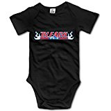 Bleach Logo Custom Baby Toddler Rompers Cotton