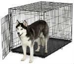 """""""MidWest Life Stages ACE-448 Brand New Includes Two Year Warranty, The MidWest ACE-448 Single Door MAXLock Dog Crate is designed completely around the safety, security and comfort for dogs"""