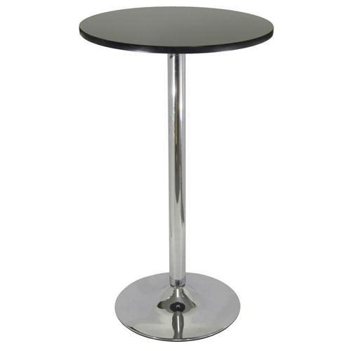 Modern Design Black Chrome Pub Bar Table
