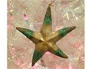 7.5 Rustic Capiz Mother Of Pearl Starfish Christmas Ornament