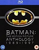 Batman: The Motion Picture Anthology 1989-1997 [Blu-ray][Region Free]