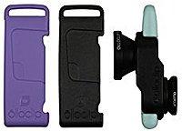 Olloclip Fisheye/wide Angle/macro Lens - 3-in-1 Photo Lens For Iphone 5/5s - Black/lavender/mint Green - Oceu-iph5-l1bk-sbk-2