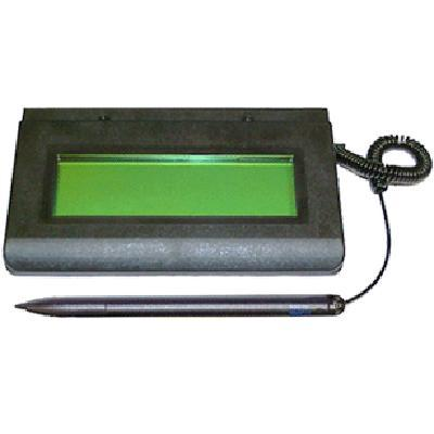 Topaz System T-l462-hsb-r Signaturegem Lcd1x5 T-l462-hsb - Signature Terminal - 4.4 X 1.3 In - Electromagnetic - Wired - Usb