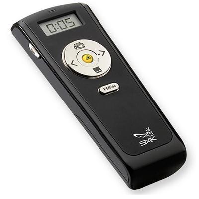 Smk-link Vp4560 Wireless Stopwatch Presenter With Laser Pointer