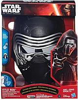 This Hasbro 630509347087 Star Wars the Force Awakens Kylo Ren Electronic Voice Changer Mask Toy lets you sound like the character from Star Wars  The Force Awakens