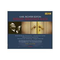 Karl Richter Edition: Johann Sebastian Bach - Brandenburg Concertos (Music CD)