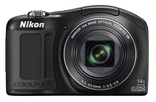 Nikon Coolpix 26425 L620 18.1 Megapixels Digital Camera - 14x Optical/digital Zoom - 3-inch Lcd Display - 4.5-63 Mm Lens - Black