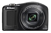 Nikon Coolpix 26425 L620 18.1 Megapixels Digital Camera - 14x Optical/digital Zoom - 3-inch Lcd Display - 4.5-63 Mm Lens - Black
