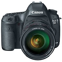 The Canon EOS 5260B009 5D Mark III Digital SLR Camera is a full frame 22.3 Megapixels DSLR featuring exceptional still image and movie recording capabilities