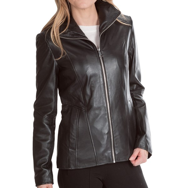 Marc New York by Andrew Marc Skye Jacket - Lamb Leather (For Women)