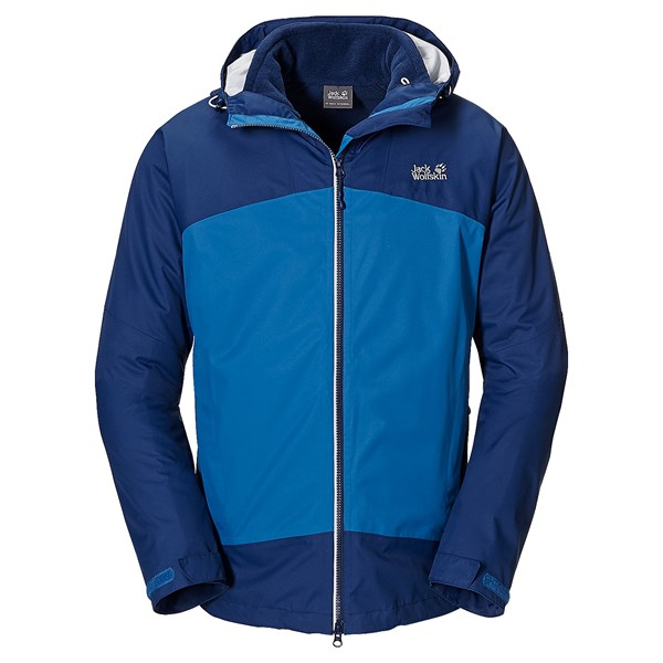 Jack Wolfskin Frost Wave Texapore Jacket - 3-in-1, Waterproof (for Men)