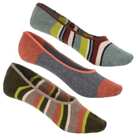 Canoe Liner Socks - 3-pack, Below The Ankle (for Women)