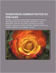 Subdivision Administrative Du Zhejiang