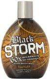 Millenium Tanning Black Storm Premium Tanning Lotion, Extreme Silicone Bronzer, 60x, 13.5-Ounce