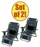 Set of 2 - GCI WILDERNESS Backpack Recliner