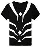ShonanCos A Certain Magical Index Accelerator T-shirt Japanese Anime (L, Black)