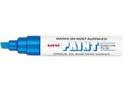 Sanford uni-Paint Marker, Broad Tip, Blue, EA - SAN63733