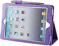 I-blason Ipadmini-606-purple Slim Book Flip Cover For Ipadmini - Purple