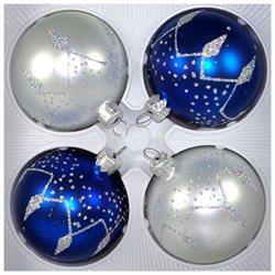 Winter Night Christmas Ornament Set
