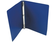ACCO 39702 ACCOHIDE Poly Ring Binder With 23-Pt. Cover, 1/2