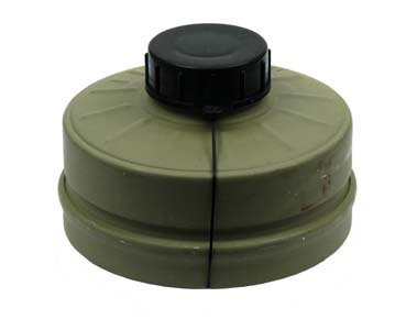 Original Gas Mask Nbc Filter - Canister Type 80 Israeli Imported