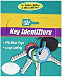 Lucky Line Key Identifier, Small, Box of 200 Assorted Colors (16400)