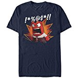 Inside Out Anger Mens Graphic T Shirt