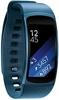 Easily check your progress with Samsung SM R3600ZBAXAR Gear Fit2 Large Activity Trackers