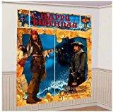 Pirates of the Caribbean 'On Stranger Tides' Giant Scene Setter Wall Decorating Kit (5pc)