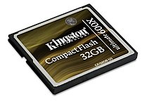 The Kingston CF 32GB U3 32 GB Ultimate Flash Memory Card features speed ratings of up to 600x, with read write speeds of up to 90 Mbps