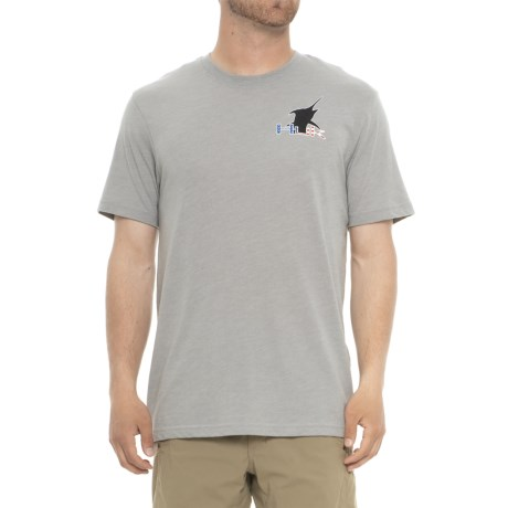 K. C. Scott American Marlin T-shirt - Short Sleeve (for Men And Big Men)