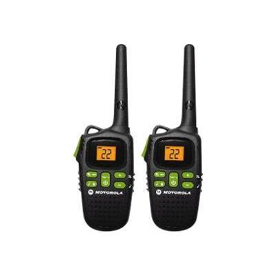 Motorola Md200r Talkabout Md200r - Portable - Two-way Radio - Frs/gmrs - 22-channel - Black ( Pack Of 2 )